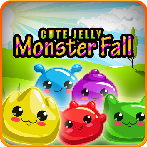 Cute Jelly Monster Fall