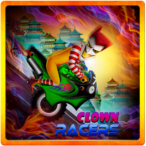 Clown Racers -Racing Downhill