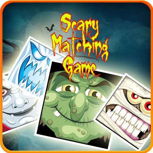 Scary Matching Game